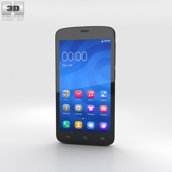Huawei Honor 3C Play White 3d model