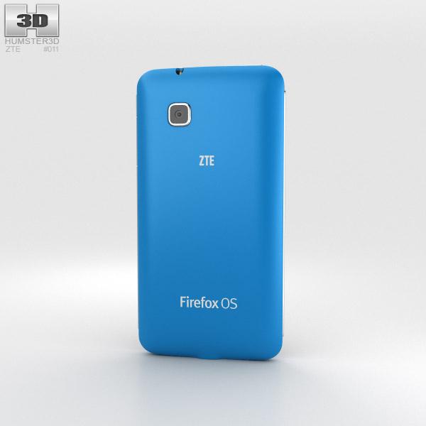 ZTE Open C Blue 3d model