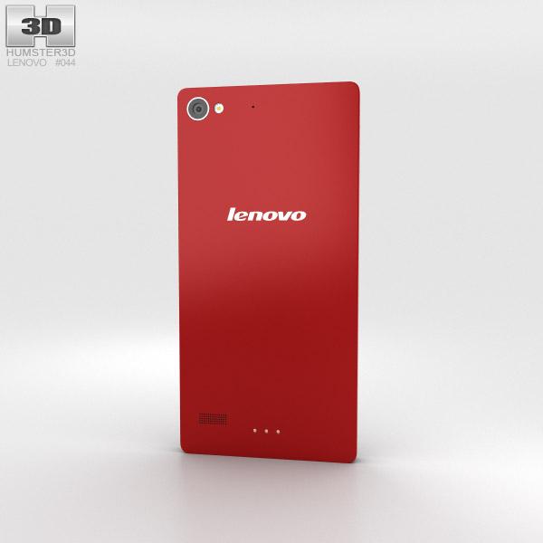 Lenovo Vibe X2 Red 3d model