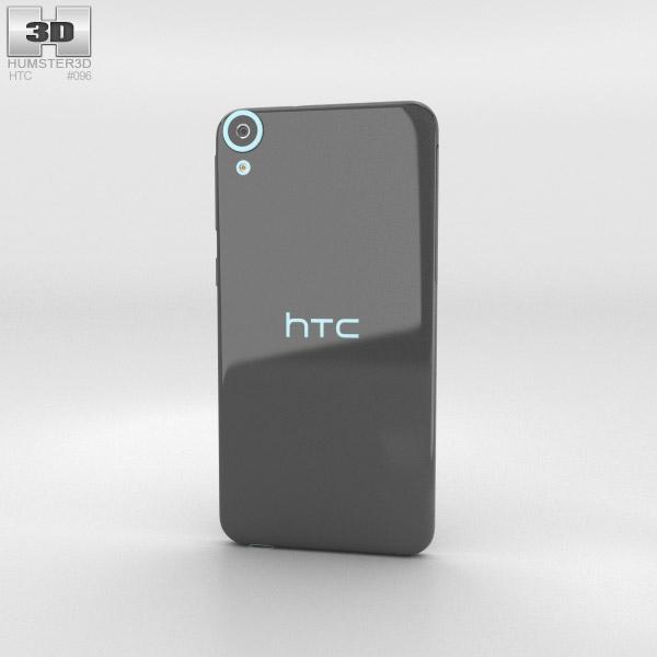 HTC Desire 820 Tuxedo Grey 3d model
