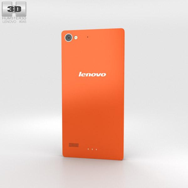 Lenovo Vibe X2 Orange 3d model