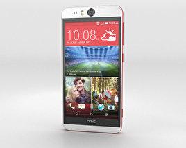 HTC Desire Eye White 3D model