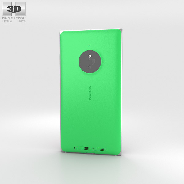 Nokia Lumia 830 Green 3d model