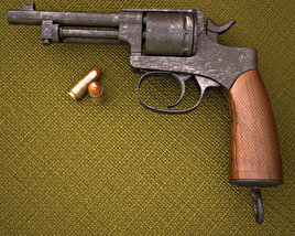 Rast & Gasser M1898 3D model