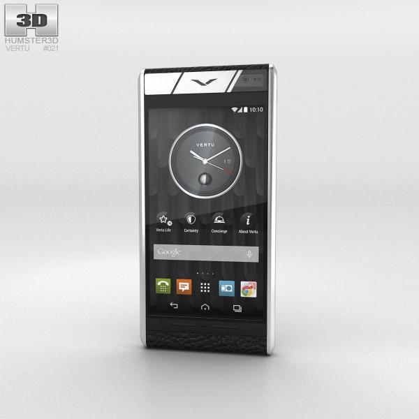 Vertu Aster Onyx Calf 3d model