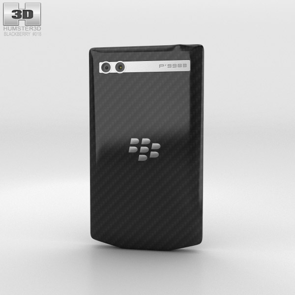 BlackBerry Porsche Design P'9983 Black 3d model