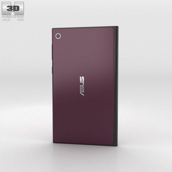 Asus MeMO Pad 7 Burgundy Red 3d model
