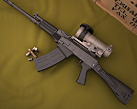 Saiga-12 18,5 KS-K 3D model