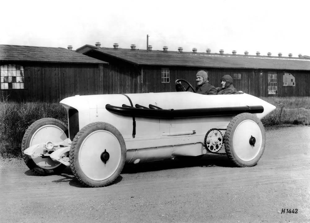 Legendary car Benz 200 hp