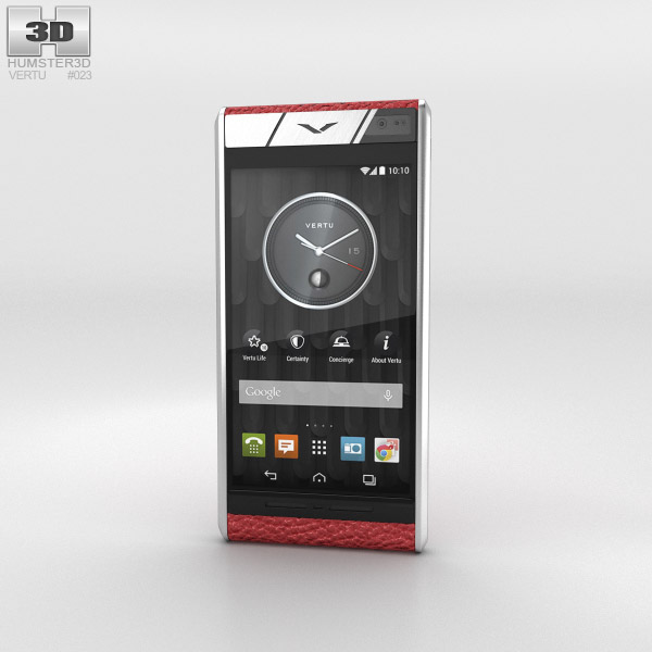 Vertu Aster Blush Calf 3d model