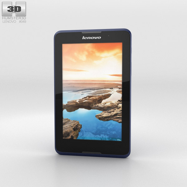Lenovo Tab A7 Midnight Blue 3d model