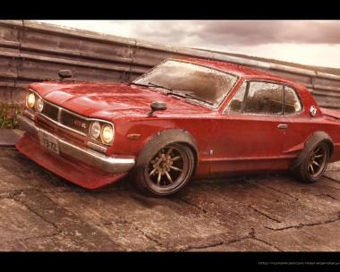 Red Baron - Nissan Skyline -72
