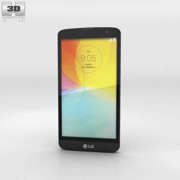 LG L Bello Black 3d model