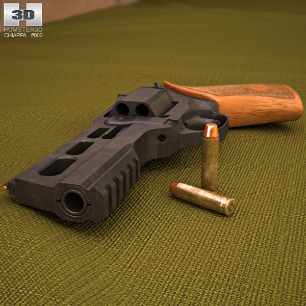Chiappa Rhino 50DS 3d model
