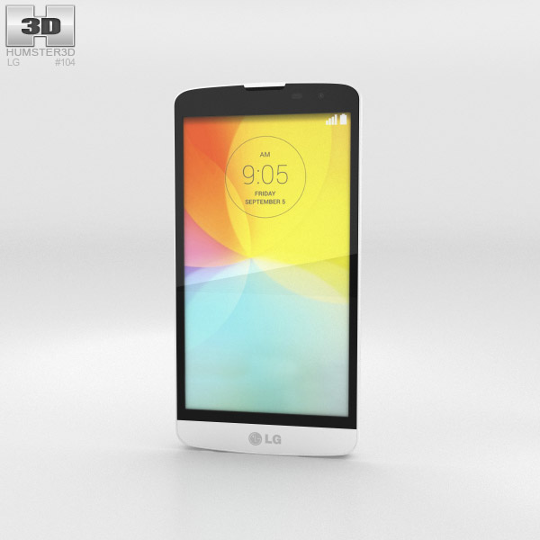 LG L Bello White 3d model