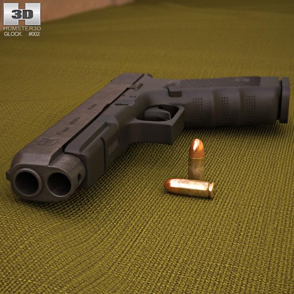 Glock 41 Gen4 3d model