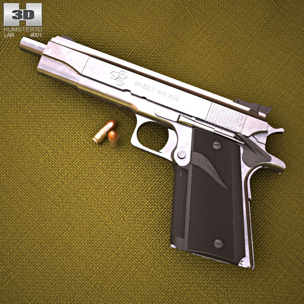 LAR Grizzly Mark I 3d model