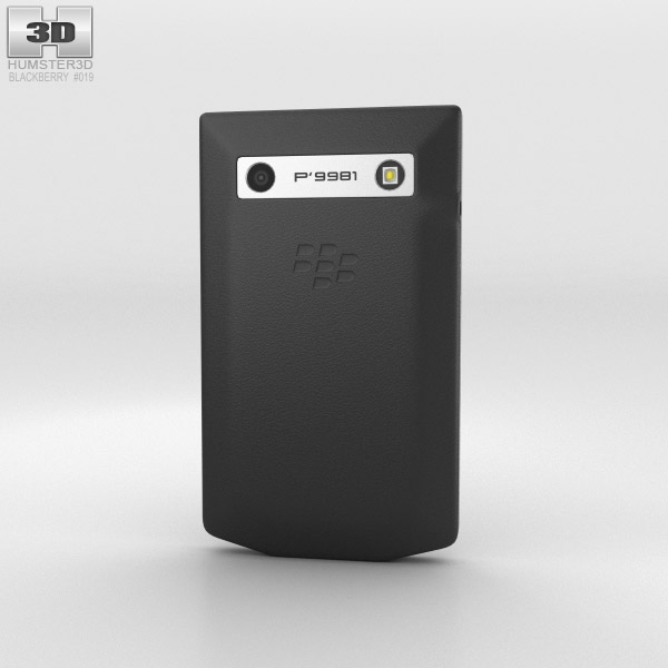 BlackBerry Porsche Design P'9981 Gray 3d model