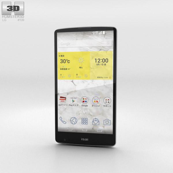LG Isai FL White 3d model