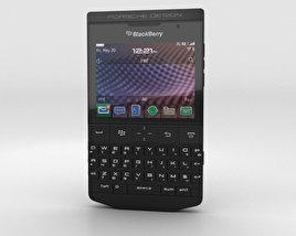 BlackBerry Porsche Design P'9981 Black 3D model