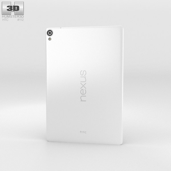 HTC Nexus 9 Lunar White 3d model
