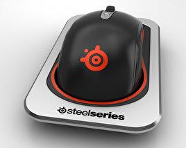 SteelSeries Sensei Wireless Laser Mouse 3D model