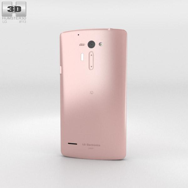 LG Isai VL Pink 3d model