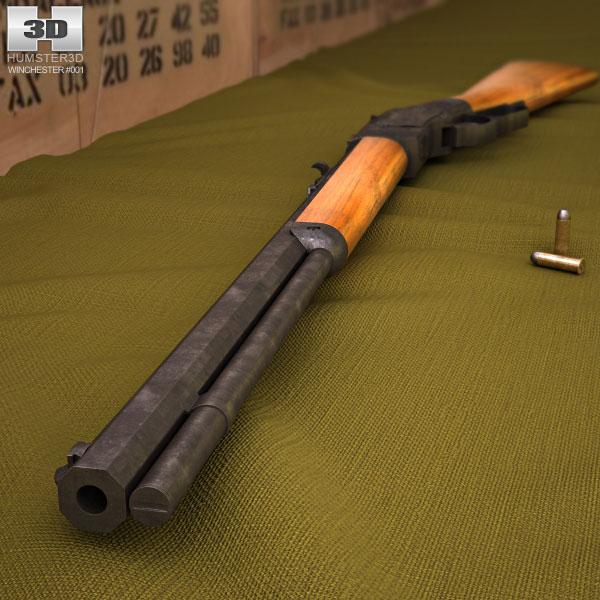 Winchester Model 1873 3d model