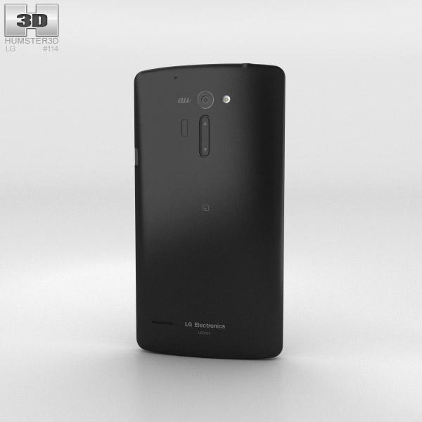 LG Isai VL Black 3d model