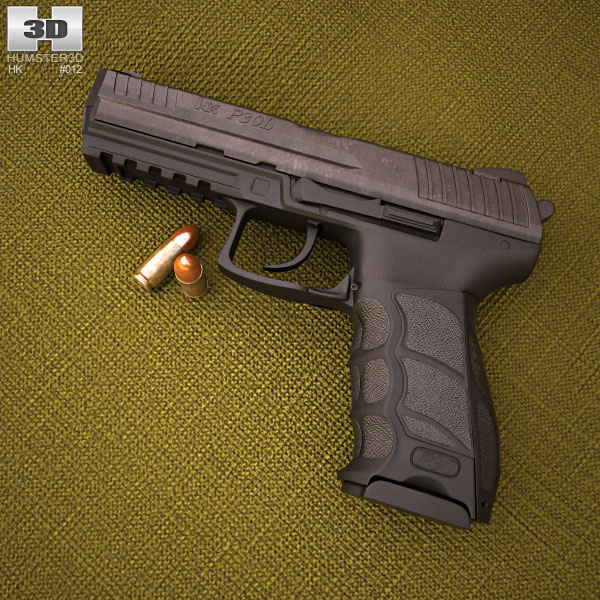 Heckler & Koch P30L 3d model