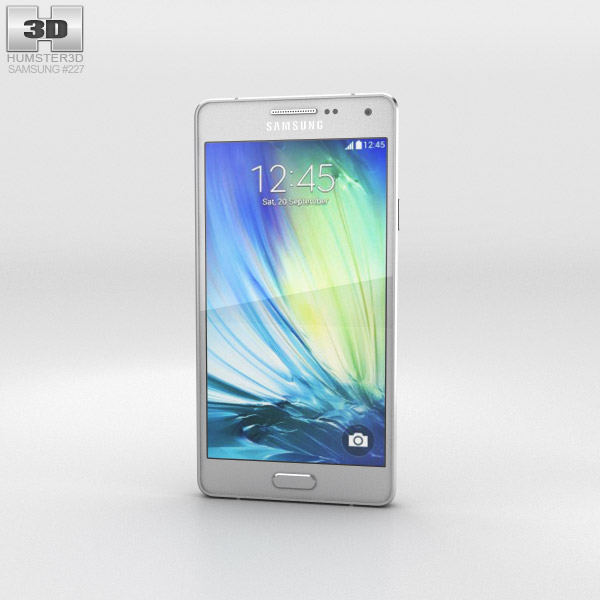 Samsung Galaxy A3 Platinum Silver 3d model