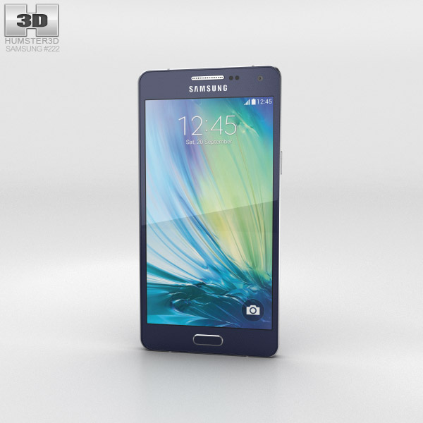Samsung Galaxy A5 Midnight Black 3d model