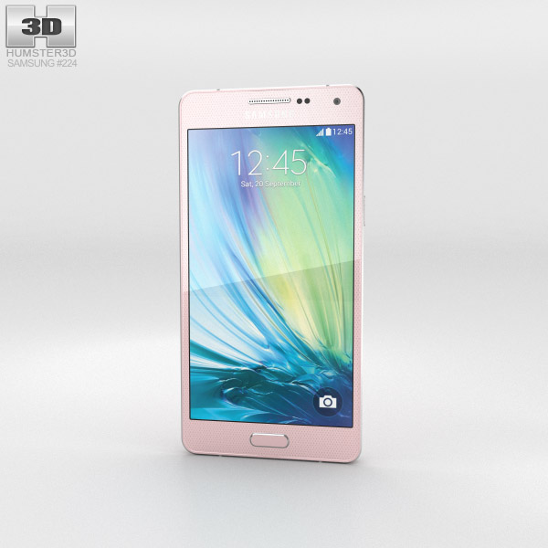 Samsung Galaxy A5 Soft Pink 3d model