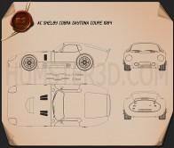 Shelby Cobra Daytona 1964 Blueprint