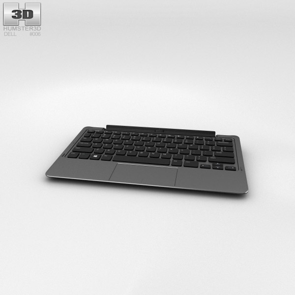 Dell Tablet Keyboard Mobile 3d model
