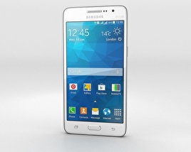 Samsung Galaxy Grand Prime Duos TV White 3D model