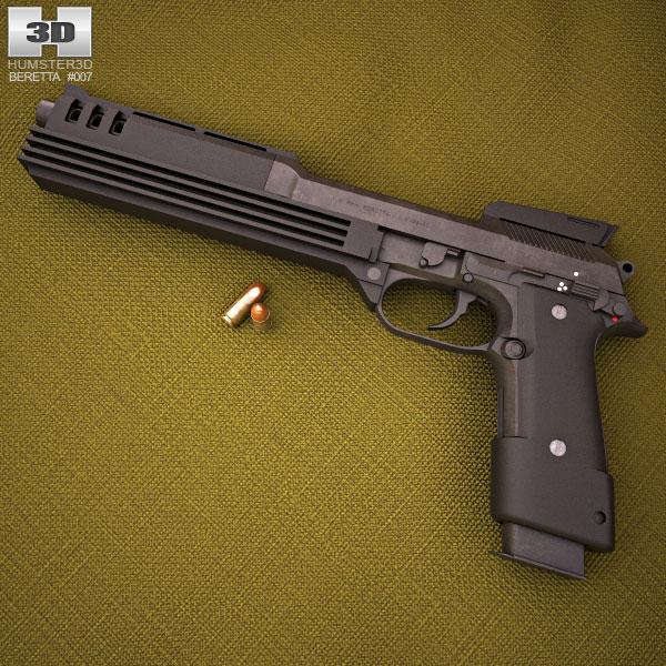 Beretta Auto 9 3d model