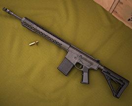 BRO PG15 .308 Magpul 3D model