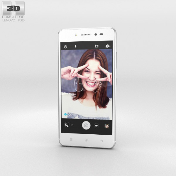 Lenovo Sisley White 3d model