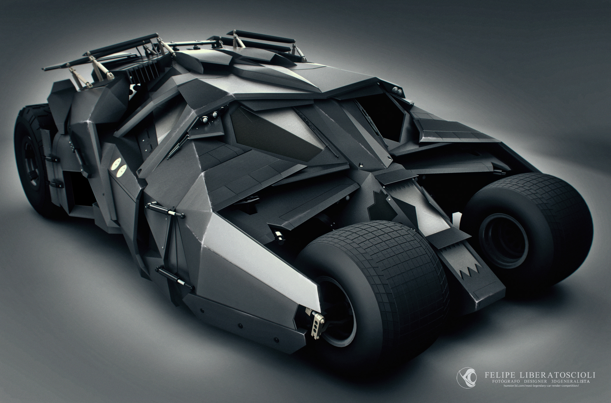 The Tumbler Batmobile