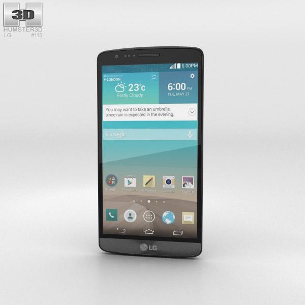 LG G3 A Titanium 3d model