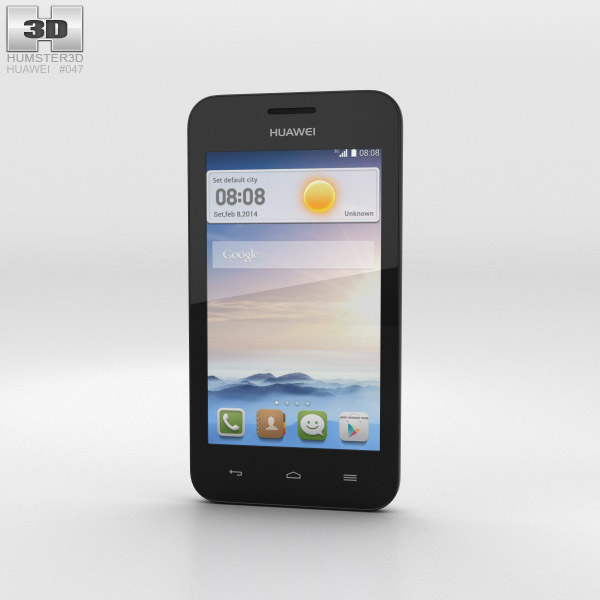 Huawei Ascend Y330 White 3d model