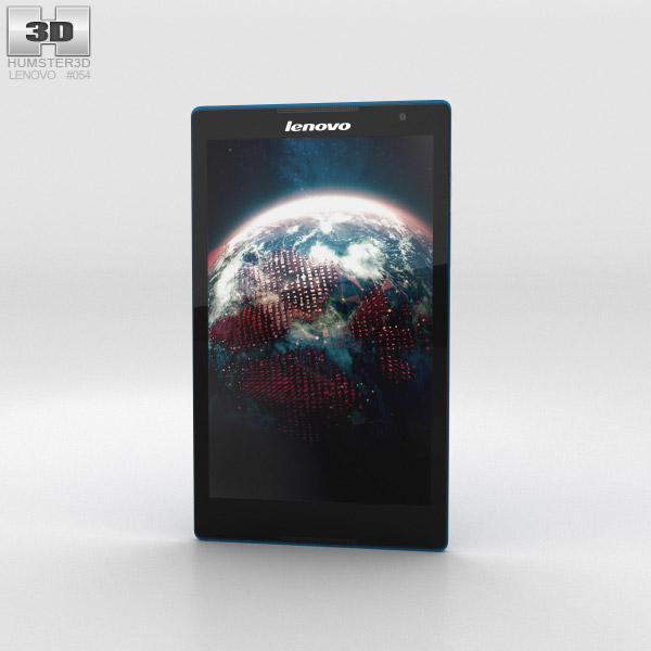 Lenovo Tab S8 Blue 3d model