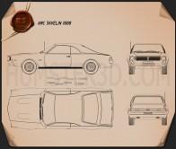 AMC Javelin 1968 Blueprint