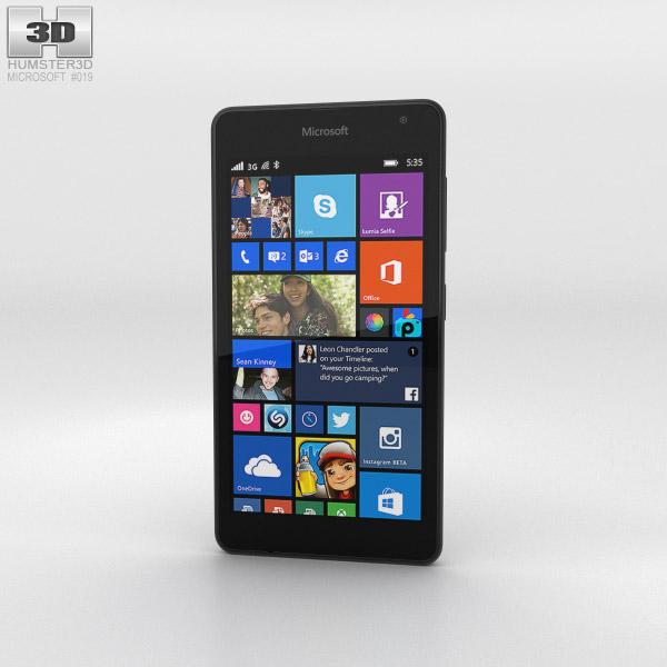 Microsoft Lumia 535 Gray 3d model