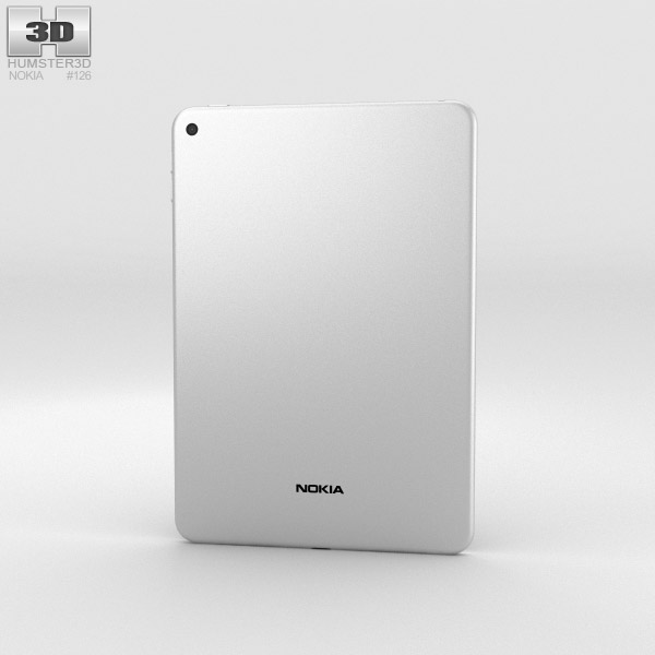 Nokia N1 Natural Aluminum 3d model