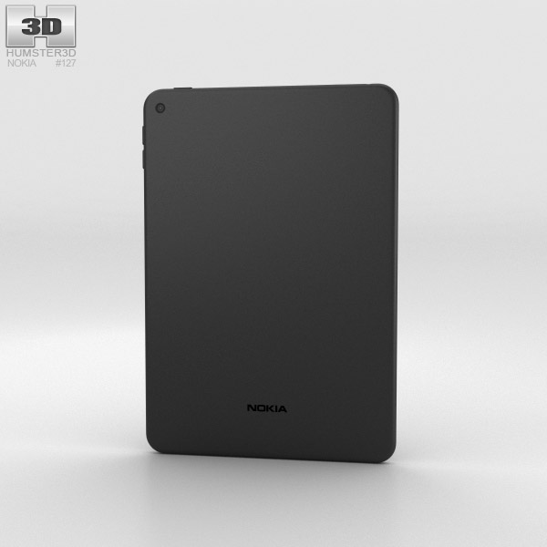 Nokia N1 Lava Gray 3d model