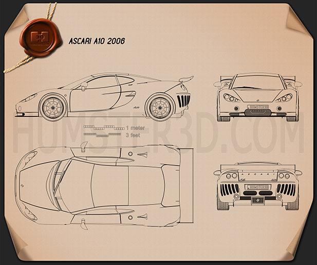 Ascari a10 2006 blueprint hum3d ascari a10 2006 blueprint malvernweather Images