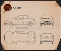 Audi A1 Blueprint