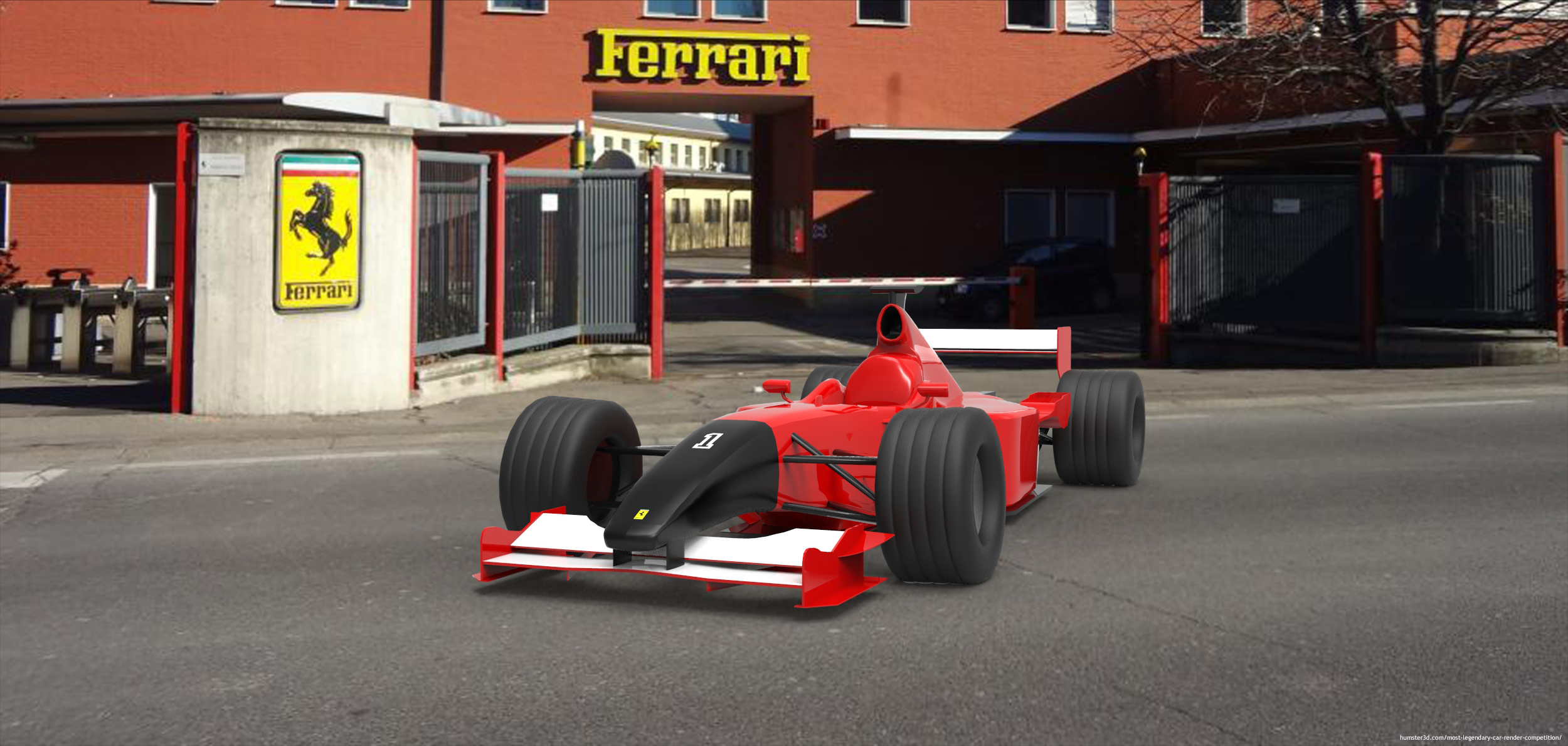 prezzo competitivo d8d86 20bed F1 Passion - 3d artist Philip Beller - Hum3D